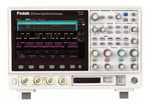 Pro Tek Oscilloscope : Gsi protek digital mixed oscilloscope bandwidth